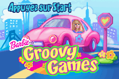 2 in 1 - Barbie Groovy Games & Secret Agent Barbie (E)(Supplex) Title Screen