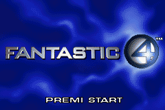Fantastic 4 (I)(Independent) Title Screen