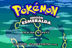 Pokemon Edicion Esmeralda (S)(Independent) Title Screen
