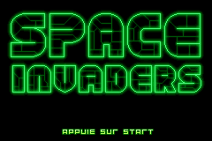Space Invaders (F)(Eternity) Title Screen
