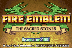 Fire Emblem - The Sacred Stones (E)(Rising Sun) Title Screen