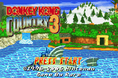 Donkey Kong Country 3 (U)(Independent) Title Screen
