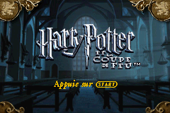 Harry Potter and the Goblet of Fire (U)(Rising Sun) Title Screen