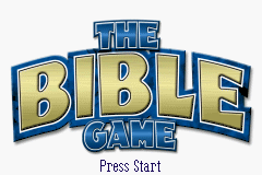 The Bible Game (U)(TrashMan) Title Screen