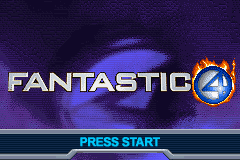 Fantastic 4 - Flame on (U)(Trashman) Title Screen