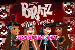Bratz Rock Angelz (G)(Rising Sun) Title Screen