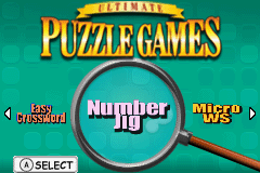 Ultimate Puzzle Games (U)(Trashman) Title Screen