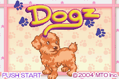 Dogz (U)(Trashman) Title Screen