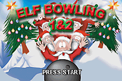 Elf Bowling 1 & 2 (U)(Trashman) Title Screen