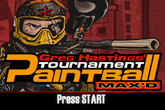 Greg Hastings' Tournament Paintball Max'd (U)(Trashman) Title Screen
