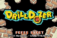 Drill Dozer (U)(Trashman) Title Screen