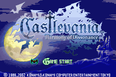 2 in 1 - Castlevania Double Pack (E)(Rising Sun) Title Screen