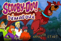 Scooby-Doo! Unmasked (E)(Independent) Title Screen