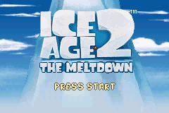 Ice Age 2 - The Meltdown (U)(Rising Sun) Title Screen