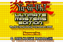 Yu-Gi-Oh! Ultimate Masters 2006 (E)(Rising Sun) Title Screen