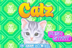 Catz (U)(Rising Sun) Title Screen