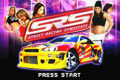 Street Racing Syndicate (U)(Trashman) Title Screen