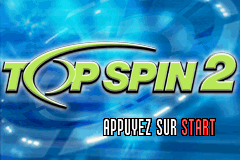 Top Spin 2 (U)(Rising Sun) Title Screen