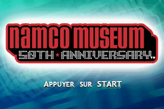 Namco Museum 50th Anniversary (E)(sUppLeX) Title Screen