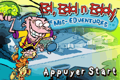 Ed Edd n Eddy - The Mis-Edventures (E)(Independent) Title Screen
