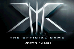 X-Men - The Official Game (U)(Trashman) Title Screen