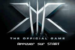 X-Men - The Official Game (E)(WRG) Title Screen