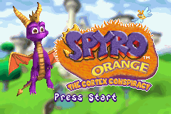 2 in 1 - Crash Bandicoot Purple - Ripto's Rampage & Spyro Orange - The Cortex Conspiracy (U)(Independent) Title Screen