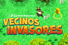 Vecinos Invasores (S)(WRG) Title Screen