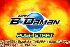 Battle B-Daman (U)(Rising Sun) Title Screen