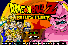 2 in 1 - Dragon Ball Z - Buu's Fury & Dragon Ball GT - Transformation (U)(Independent) Title Screen