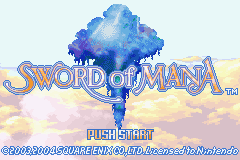 Sword of Mana (E)(Independent) Title Screen