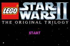 LEGO Star Wars II - The Original Trilogy (E)(Rising Sun) Title Screen