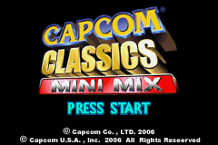 Capcom Classics - Mini Mix (U)(Rising Sun) Title Screen