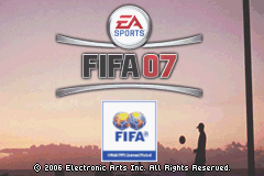 FIFA Soccer 07 (U)(Rising Sun) Title Screen