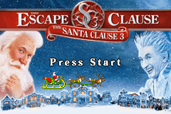The Santa Clause 3 - The Escape Clause (U)(Sir VG) Title Screen