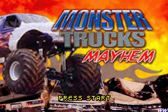 Monster Trucks Mayhem (U)(Sir VG) Title Screen