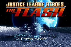 Justice League Heroes - The Flash (U)(Rising Sun) Title Screen