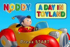 Noddy - A day in Toyland (U)(Rising Sun) Title Screen