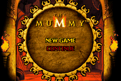 The Mummy (U)(Independent) Title Screen