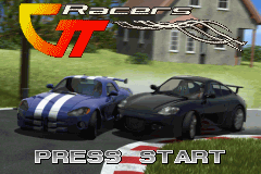 GT Racers (E)(Independent) Title Screen