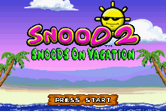 Snood 2 - Snoods On Vacation (U)(Sir VG) Title Screen