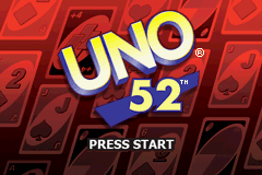 Uno 52 (U)(Sir VG) Title Screen