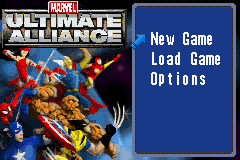 Marvel - Ultimate Alliance (U)(Rising Sun) Title Screen