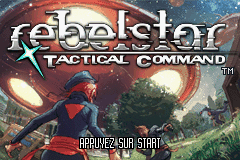 Rebelstar - Tactical Command (E)(WRG) Title Screen