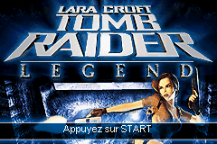 Lara Croft - Tomb Raider Legend (E)(Rising Sun) Title Screen