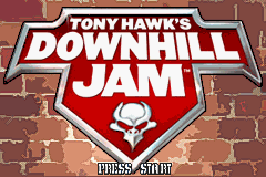 Tony Hawk's Downhill Jam (U)(Rising Sun) Title Screen