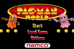 2 in 1 - Ms. Pac-Man - Maze Madness & Pac-Man World (U)(Sir VG) Title Screen