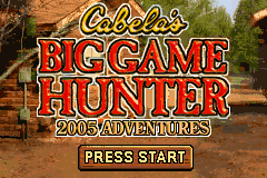 2 in 1 - Cabela's Sportsman's Pack (U)(Sir VG) Title Screen