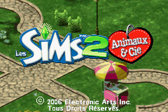 The Sims 2 - Pets (E)(Lightforce) Title Screen