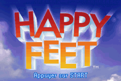 Happy Feet (E)(Rising Sun) Title Screen
